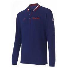 Рубашка поло мужская (синий) m13120g-nn182