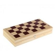 Доска для обиходных шахмат.