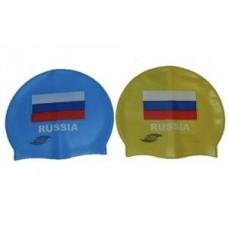 Шапочка для плавания SPRINTER с флагом Росии  06330