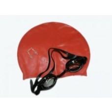 Набор: очки, шапочка, беруши №2400