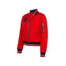 Бомбер женский (красный/голубой) w09250sf-ra181