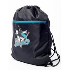 МЕШОК НА ШНУРКЕ NHL SAN JOSE SHARKS 58039