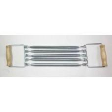 Эспандер плечевой 5 пружин,деревянные ручки 108