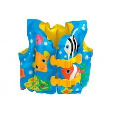 Надувной жилет Забавные рыбки, для 3-5 лет, Intex 59661